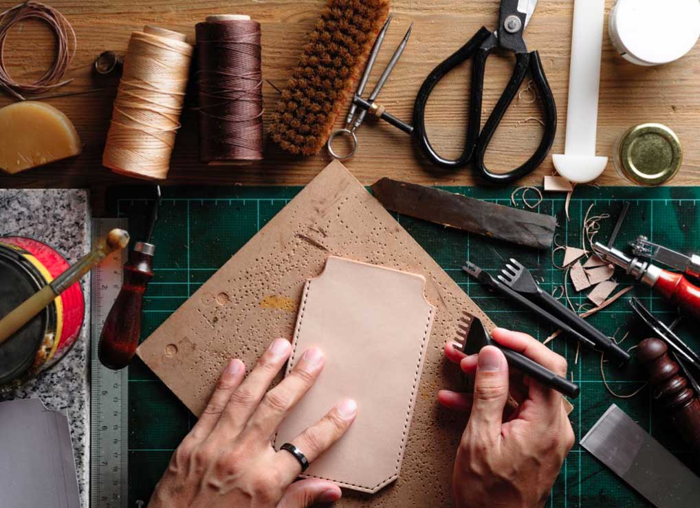 leather manufacture in Delhi